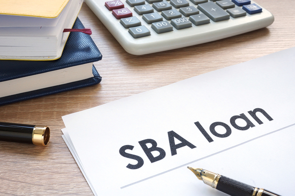 Document labeled SBA Loan.