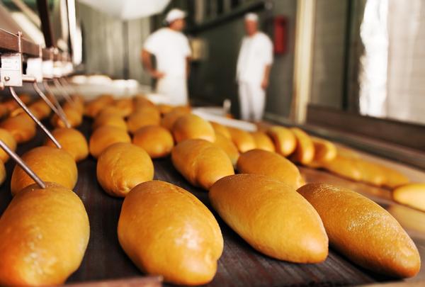 Fresh baked bread.