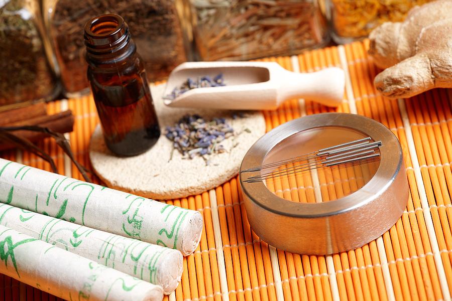 Aromatherapy oil.