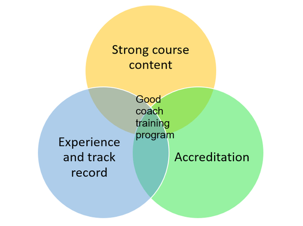 Good Coaching Program Diagram