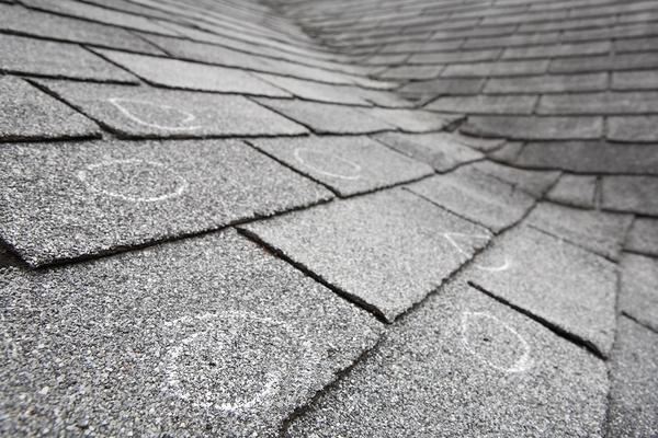 Shingled roof.