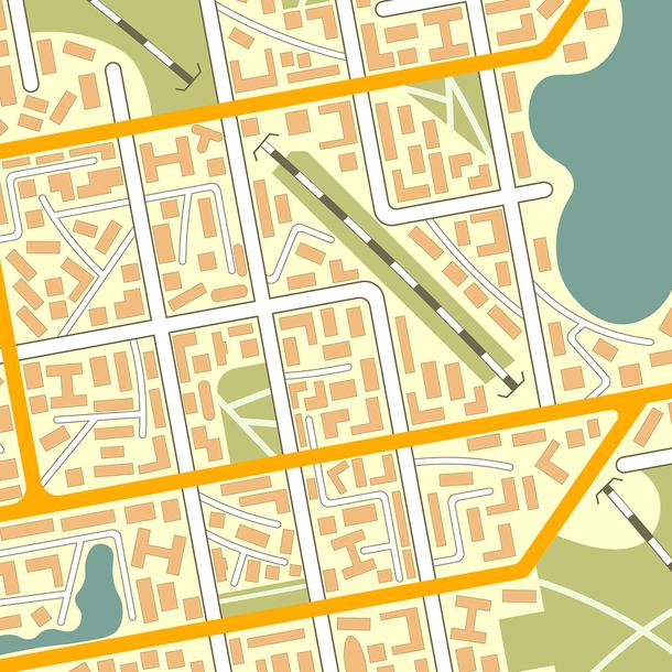 A city map.