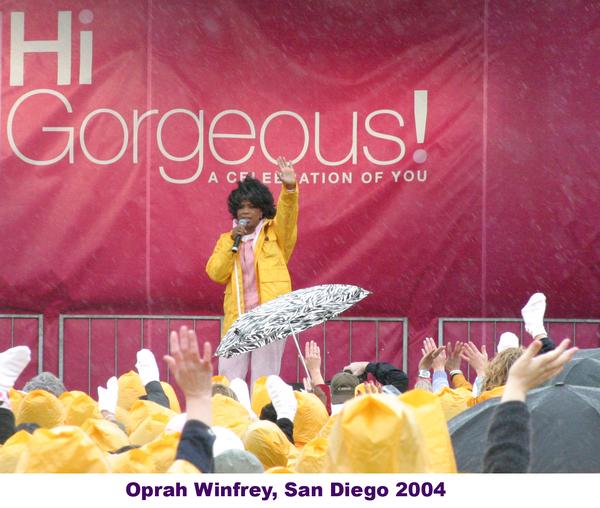 Oprah Winfrey in San Diego 2004