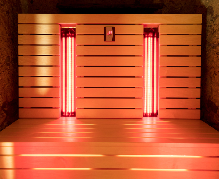 Red light therapy.