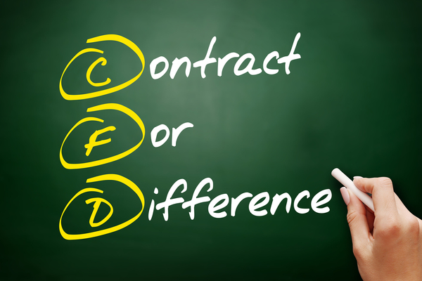 Contract or difference.
