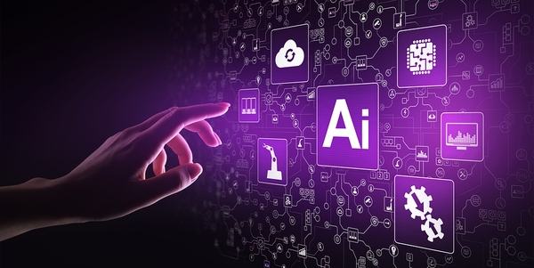 Hand pointing to an Icon labeled Ai.