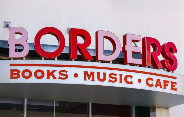 Borders book store.