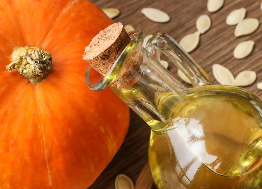 Pumpkin, pumpkin seeds and pumpkin oil.