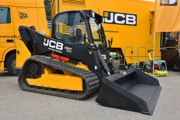 Compact truck loader.