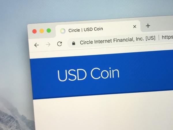 USD coin.
