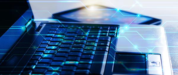 Computer keyboard. log integration
