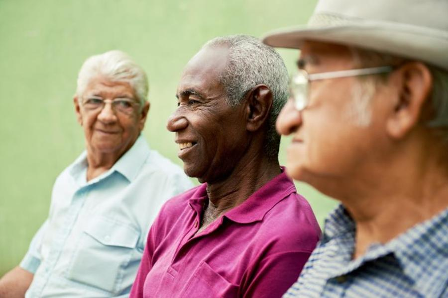 Prostate cancer is commonly diagnosed in men in their sixtes and over