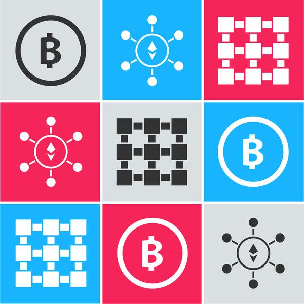 bitcoin symbols.