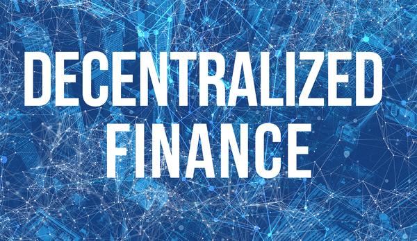 Decentralized finance.