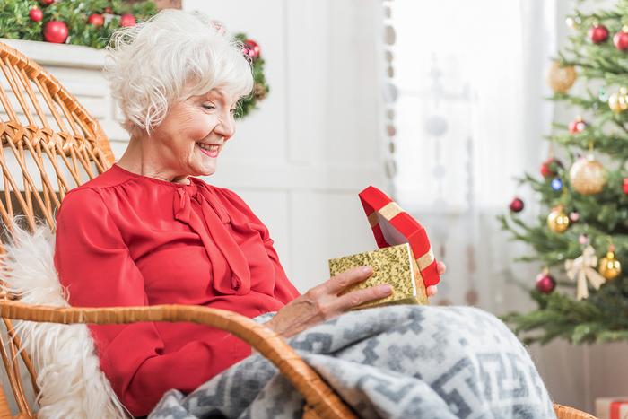 Christmas for the elderly