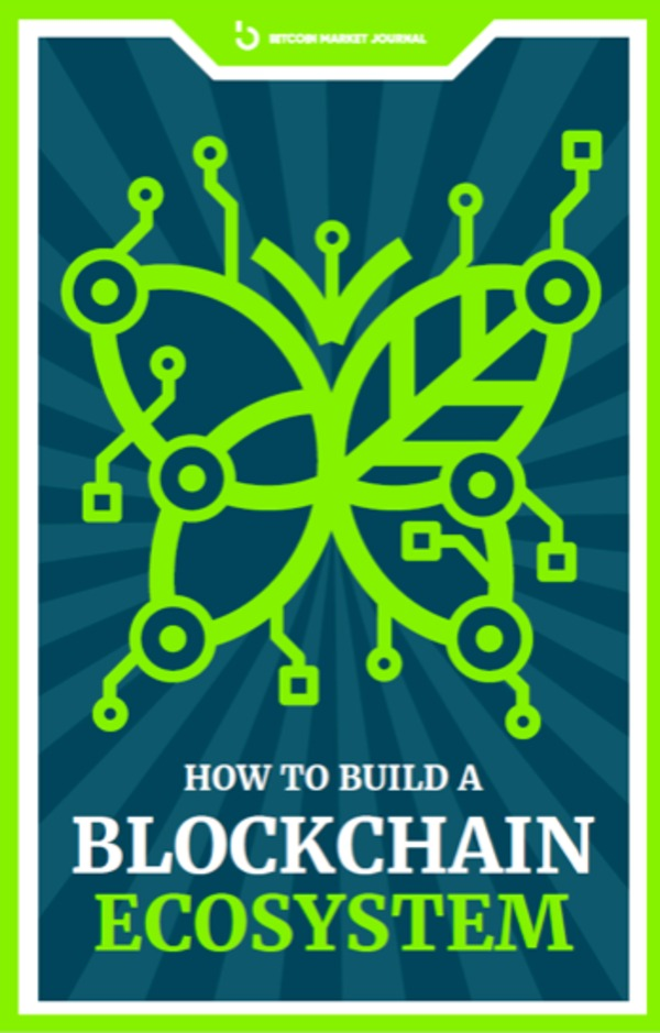 Blockchain Ecosystem ebook cover.