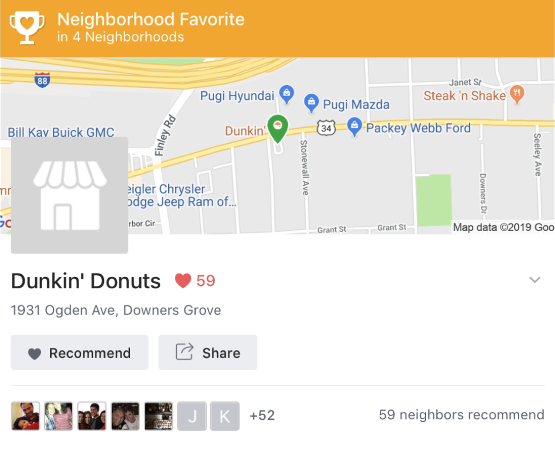 dunkindonuts 1900x - Build Your Reputation on Nextdoor