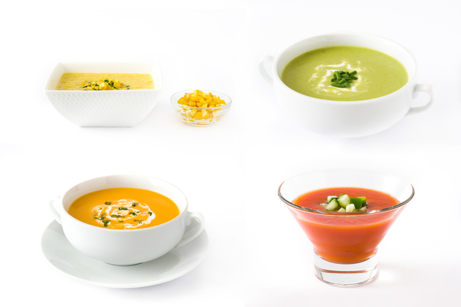 Drinkable soups