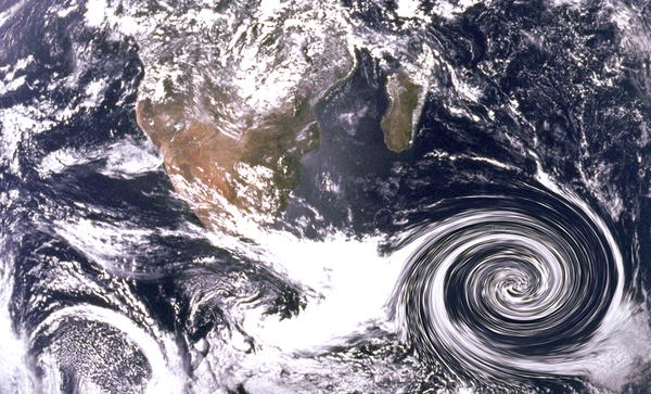 Hurricane views from space.