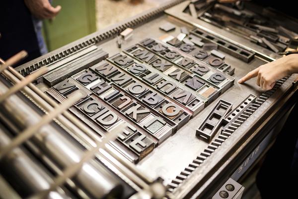 Print machine.
