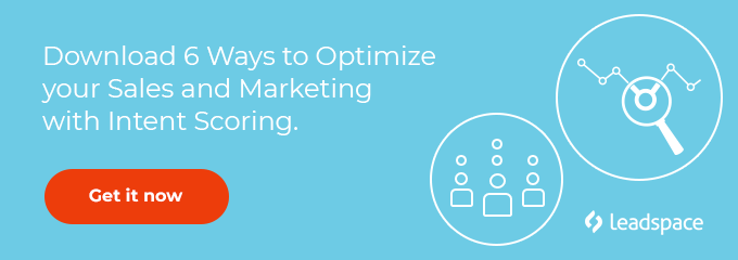 Download 6 ways to optimize your sales and marketing with intent scoring.