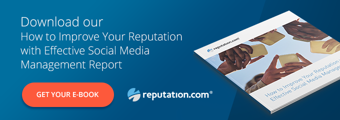 Reputation CTA Effective Social Media Management - Why User-Generated Visual Content Is a Two-Edged Sword for Businesses