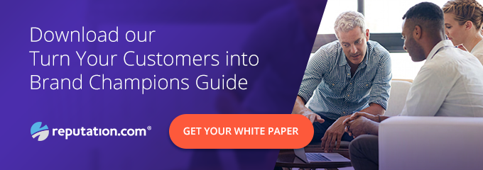 Reputation CTA Brand Champions Guide - CX Game Changes as New Customer Journey Levels the Field