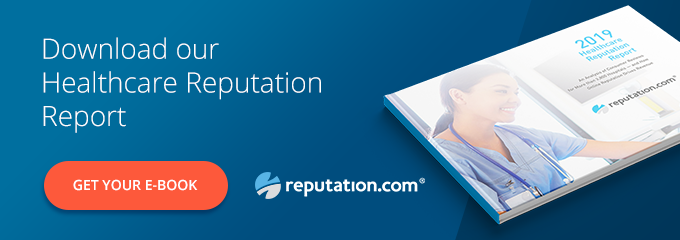 Reputation CTA Healthcare - Three Examples of Targeted Solutions from HMPS 2019