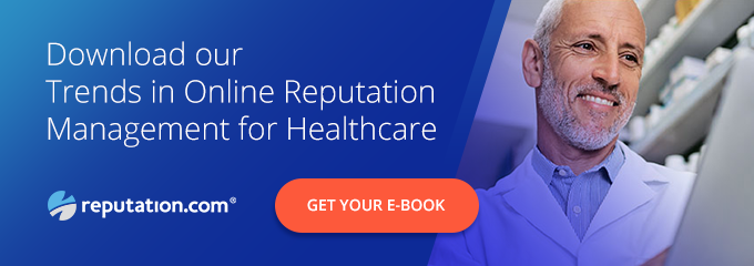 Reputation CTA Trends for Healthcare - Help Your Patients Find a Doctor: The New Reputation.com Find-A-Doctor Tool