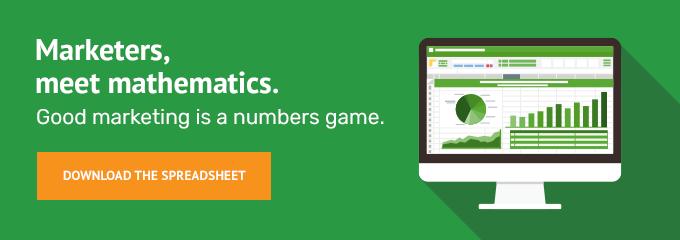 Marketers, meet mathematics.