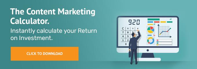 The content marketing calculator.