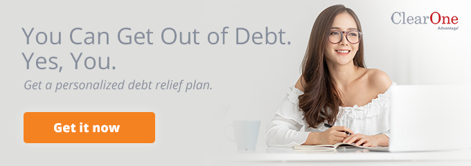 You can get out of debt. Yes, you.